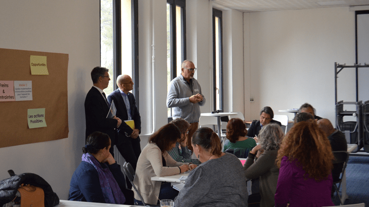 workshop pacte, image de la conference carif